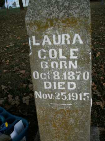 COLE, LAURA - Boone County, Arkansas | LAURA COLE - Arkansas Gravestone Photos