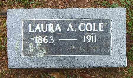 COLE, LAURA A. - Boone County, Arkansas | LAURA A. COLE - Arkansas Gravestone Photos