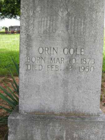 COLE, ORIN - Boone County, Arkansas | ORIN COLE - Arkansas Gravestone Photos