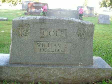 COLE, WILLIAM E. - Boone County, Arkansas | WILLIAM E. COLE - Arkansas Gravestone Photos