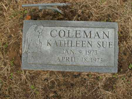 COLEMAN, KATHLEEN SUE - Boone County, Arkansas | KATHLEEN SUE COLEMAN - Arkansas Gravestone Photos