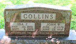 FURGASON COLLINS, IDA FRANCES - Boone County, Arkansas | IDA FRANCES FURGASON COLLINS - Arkansas Gravestone Photos