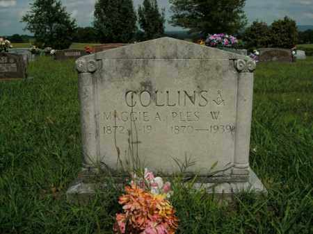 COLLINS, MAGGIE A. - Boone County, Arkansas | MAGGIE A. COLLINS - Arkansas Gravestone Photos