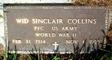 COLLINS  (VETERAN WWII), WID SINCLAIR - Boone County, Arkansas | WID SINCLAIR COLLINS  (VETERAN WWII) - Arkansas Gravestone Photos