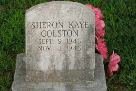 COLSTON, SHERON KAYE - Boone County, Arkansas | SHERON KAYE COLSTON - Arkansas Gravestone Photos