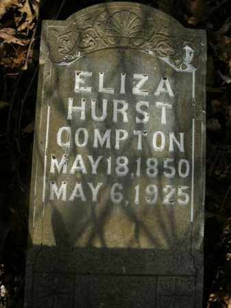 COMPTON, ELIZA - Boone County, Arkansas | ELIZA COMPTON - Arkansas Gravestone Photos