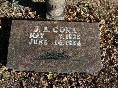 CONE, J.E. - Boone County, Arkansas | J.E. CONE - Arkansas Gravestone Photos
