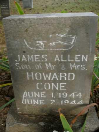 CONE, JAMES ALLEN - Boone County, Arkansas | JAMES ALLEN CONE - Arkansas Gravestone Photos