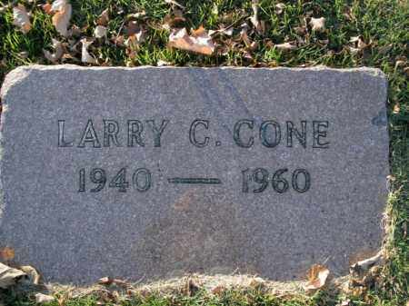 CONE, LARRY CHARLES - Boone County, Arkansas | LARRY CHARLES CONE - Arkansas Gravestone Photos