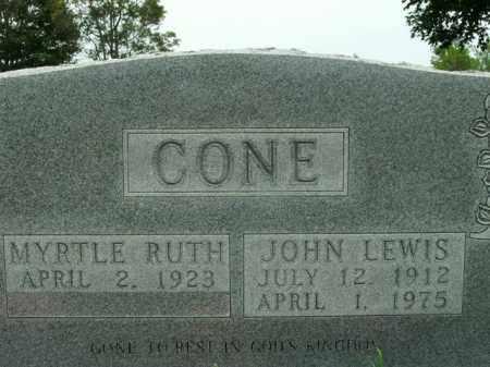CONE, JOHN LEWIS - Boone County, Arkansas | JOHN LEWIS CONE - Arkansas Gravestone Photos