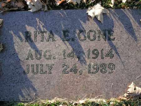 CONE, RITA E. - Boone County, Arkansas | RITA E. CONE - Arkansas Gravestone Photos