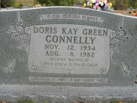 CONNELLY, DORIS KAY GREEN - Boone County, Arkansas | DORIS KAY GREEN CONNELLY - Arkansas Gravestone Photos