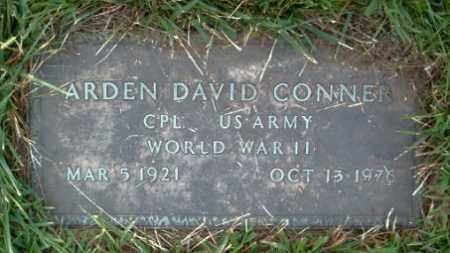 CONNER  (VETERAN WWII), ARDEN DAVID - Boone County, Arkansas | ARDEN DAVID CONNER  (VETERAN WWII) - Arkansas Gravestone Photos