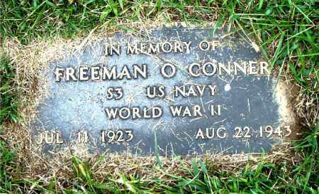 CONNER  (VETERAN WWII), FREEMAN OSCAR - Boone County, Arkansas | FREEMAN OSCAR CONNER  (VETERAN WWII) - Arkansas Gravestone Photos