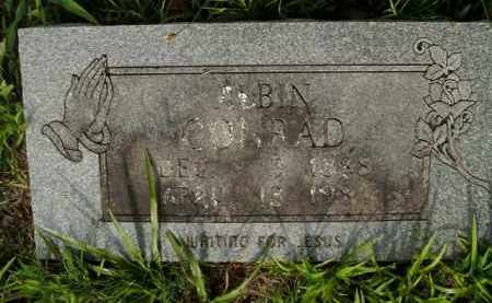 CONRAD, ALBIN - Boone County, Arkansas | ALBIN CONRAD - Arkansas Gravestone Photos