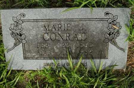 CONRAD, MARIE J. - Boone County, Arkansas | MARIE J. CONRAD - Arkansas Gravestone Photos