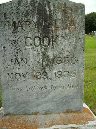 COOK, MARY ELLA - Boone County, Arkansas | MARY ELLA COOK - Arkansas Gravestone Photos