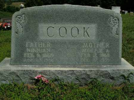 COOK, NINNIAN - Boone County, Arkansas | NINNIAN COOK - Arkansas Gravestone Photos