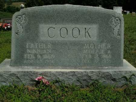 COOK, MOLLIE A. - Boone County, Arkansas | MOLLIE A. COOK - Arkansas Gravestone Photos