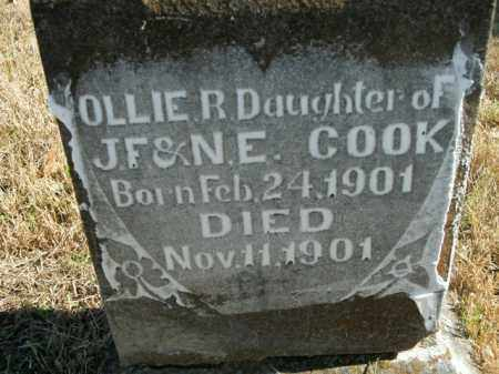 COOK, OLLIE R. - Boone County, Arkansas | OLLIE R. COOK - Arkansas Gravestone Photos