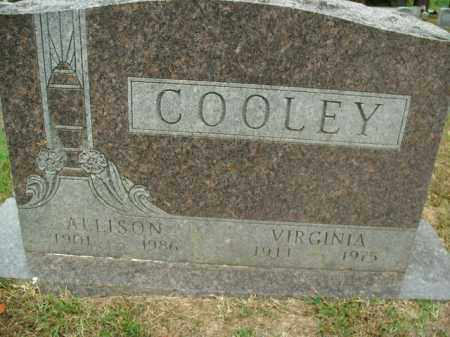 COOLEY, ALLISON - Boone County, Arkansas | ALLISON COOLEY - Arkansas Gravestone Photos