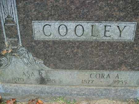 COOLEY, CORA A. - Boone County, Arkansas | CORA A. COOLEY - Arkansas Gravestone Photos
