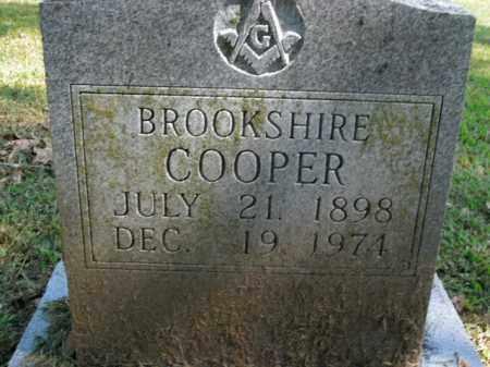 COOPER, BROOKSHIRE - Boone County, Arkansas | BROOKSHIRE COOPER - Arkansas Gravestone Photos
