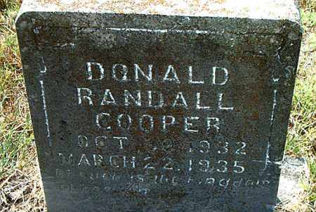 COOPER, DONALD RANDALL - Boone County, Arkansas | DONALD RANDALL COOPER - Arkansas Gravestone Photos