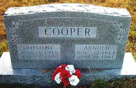 COOPER, J. ARNOLD - Boone County, Arkansas | J. ARNOLD COOPER - Arkansas Gravestone Photos