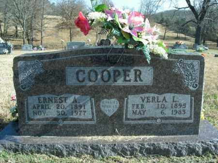 COOPER, VERLA LEE - Boone County, Arkansas | VERLA LEE COOPER - Arkansas Gravestone Photos