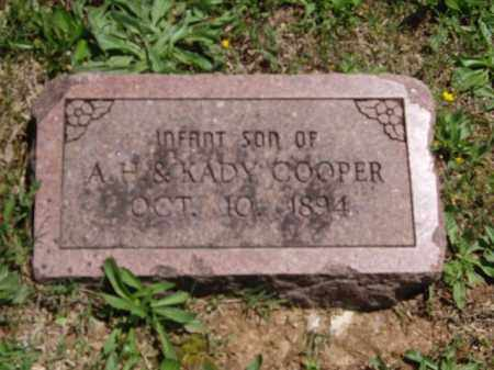 COOPER, INFANT SON - Boone County, Arkansas | INFANT SON COOPER - Arkansas Gravestone Photos