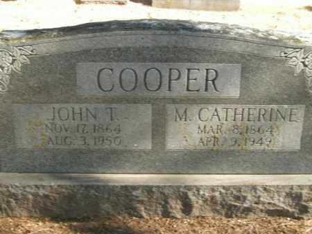 COOPER, JOHN T. - Boone County, Arkansas | JOHN T. COOPER - Arkansas Gravestone Photos