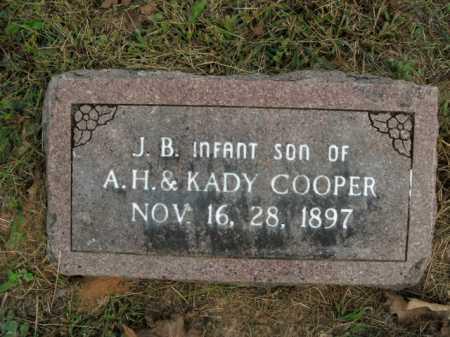 COOPER, J. B. - Boone County, Arkansas   J. B. COOPER - Arkansas Gravestone Photos