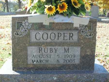 COOPER, RUBY M. - Boone County, Arkansas | RUBY M. COOPER - Arkansas Gravestone Photos