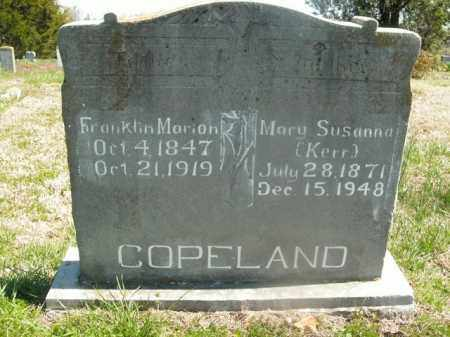 COPELAND, MARY SUSANNA - Boone County, Arkansas | MARY SUSANNA COPELAND - Arkansas Gravestone Photos