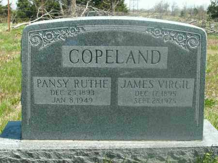 COPELAND, PANSY RUTHE - Boone County, Arkansas | PANSY RUTHE COPELAND - Arkansas Gravestone Photos