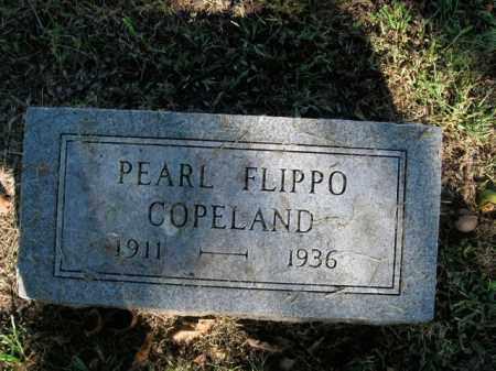 FLIPPO COPELAND, PEARL - Boone County, Arkansas | PEARL FLIPPO COPELAND - Arkansas Gravestone Photos