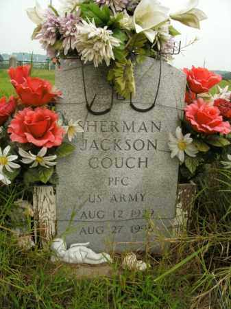 COUCH  (VETERAN), SHERMAN JACKSON - Boone County, Arkansas | SHERMAN JACKSON COUCH  (VETERAN) - Arkansas Gravestone Photos