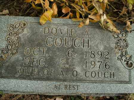 COUCH, DOVIE A. - Boone County, Arkansas | DOVIE A. COUCH - Arkansas Gravestone Photos