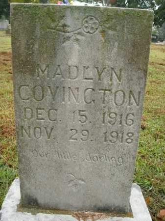 COVINGTON, MADLYN - Boone County, Arkansas | MADLYN COVINGTON - Arkansas Gravestone Photos