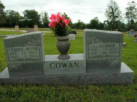 COWAN, LYNNA RUTH - Boone County, Arkansas | LYNNA RUTH COWAN - Arkansas Gravestone Photos