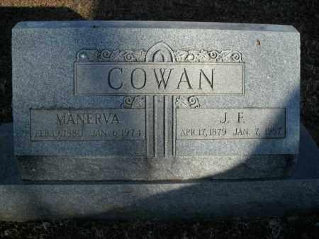 COWAN, MANERVA - Boone County, Arkansas | MANERVA COWAN - Arkansas Gravestone Photos