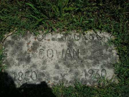 COWAN, SAMUEL JACKSON - Boone County, Arkansas | SAMUEL JACKSON COWAN - Arkansas Gravestone Photos