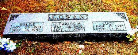 COWAN, WALSIE - Boone County, Arkansas | WALSIE COWAN - Arkansas Gravestone Photos