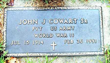 COWART,  SR.  (VETERAN WWII), JOHN J - Boone County, Arkansas | JOHN J COWART,  SR.  (VETERAN WWII) - Arkansas Gravestone Photos