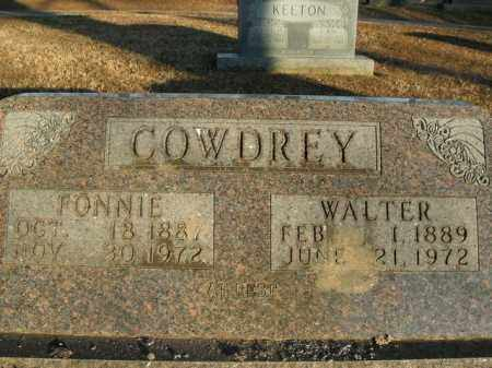 COWDREY, FONNIE - Boone County, Arkansas | FONNIE COWDREY - Arkansas Gravestone Photos