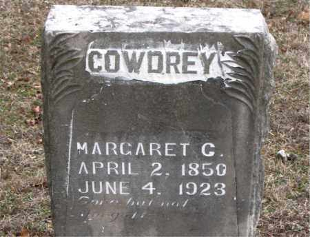 COWDREY, MARGARET C. - Boone County, Arkansas | MARGARET C. COWDREY - Arkansas Gravestone Photos