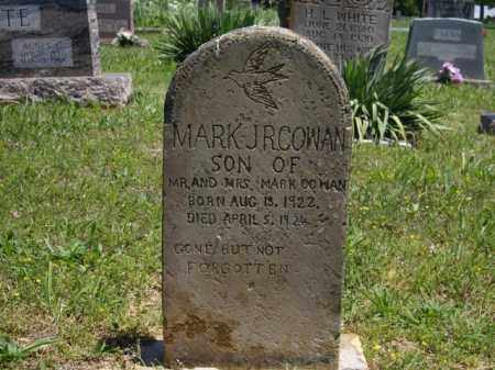 COWN, MARK JR - Boone County, Arkansas | MARK JR COWN - Arkansas Gravestone Photos