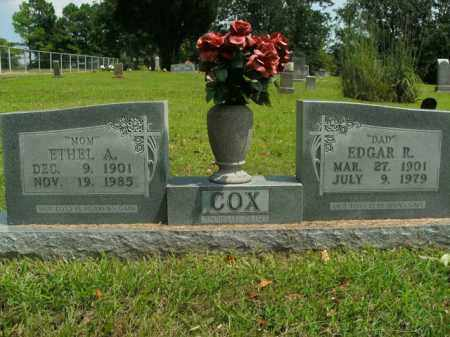 COX, ETHEL ADDIE - Boone County, Arkansas | ETHEL ADDIE COX - Arkansas Gravestone Photos