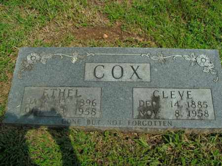 COX, CLEVE EDWARD - Boone County, Arkansas | CLEVE EDWARD COX - Arkansas Gravestone Photos